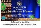 un curs de desen in atelierul Wagner
