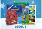 Merry Christmas Fun Pack (Carte, CD & DVD) + rucsac – Aventurile lui Felix + felicitare cu CD cu colinde de Craciun + carte cu 6 povesti Comorile Oceanului + DVD Aventurile dinozaurilui Dino, The Story of Santa Claus Fun Pack (Book, CD & DVD) + rucsac – Aventurile lui Felix + felicitare cu CD cu colinde de Craciun + carte cu 6 povesti Comorile Oceanului, The Shoemaker and his Guest Fun Pack (Book, CD & DVD) + sabloane – Sweet Christmas Mice + ceas de mana + felicitare cu CD cu colinde de Craciun + carte cu doua povesti Cufarul de Craciun, puzzle In lumea subacvatica + pusculita in jurul lumii cu Felix + felicitare cu CD cu colinde de Craciun, minge – Cei sapte prieteni + cutiuta muzicala – Cei sapte prieteni + felicitare cu CD cu colinde de Craciun, prosop magic – Sweet Christmas Mice + caleidoscop + felicitare cu CD cu colinde de Craciun