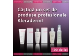 un set de cosmetice profesionale Kleraderm