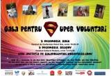 o invitatie de doua persoane la Gala pentru Supervoluntari Sibiu