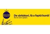 3 x finantare de 1000 de euro pentru o fapta buna de Sarbatori