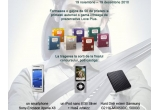 un smartphone Sony Ericsson Xperia X8, un iPod nano 8GB Silver + husa Artwizz, un hard disk extern Samsung 500 GB, garantat daca ti-ai completat gasca cu 50 de prieteni: o gama completa de prezervative Love Plus