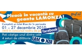4 x set LAMONZA (Rucsac LAMONZA Colectia Blue Line + Trolley LAMONZA Colectia Crest)