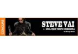 2 x invitatie dubla la Steve Vai