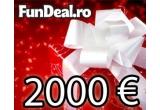 2000 de euro
