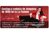 o sedinta de shopping de 1000 de lei la La Femme
