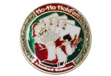 "un set complet cu 200 de jetoane poker ""200 Texas Holdem Casino"", Poker Card Guard - HO HO HOLD'EM + suport auriu jeton poker sub forma de breloc"
