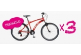 3 x bicicleta Ideal Bikes