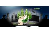 un televizor LG LED 3D de 106 cm + un aparat foto digital Fujifilm FinePix W3, 2 x sistem DVD Home Theatre Philips, 5 premii x placa de indreptat parul Philips HP8310