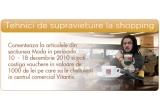 vouchere in valoare de 1000 de lei pentru cumparaturi in centrul comercial Vitantis