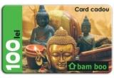 10 x card-cadou bam boo in valoare de 100 de lei
