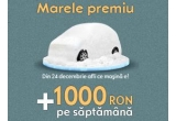 12 x 1.000 lei/saptamanal, o masina Opel