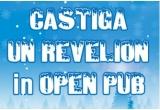 o invitatie pentru doua persoane la Revelionul organizat de Open Pub