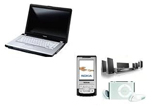 <b>Un laptop Toshiba, 3 telefoane mobile, 5 sisteme home cinema, 10 iPod Shuffle, 20 X mouse optic</b><br />