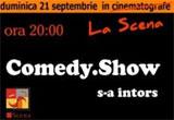<b>2 invitatii duble la Comedy Show&nbsp;</b>