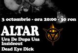 2 x invitatie concert&nbsp; Altar si Ura de dupa usa<br />