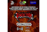 <b>2 invitatii la concertul Benediction/Holy Moses de la Brasov din data de 24/09/2008</b><br />
