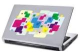 4 x calendar personalizat, 4 x laptop skin