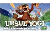 "5 x invitatie dubla la filmul ""Ursul Yogi"""