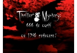 3 x o carte la alegere din categoria Thriller & Mistery de pe Elefant.ro