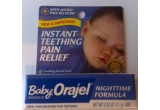 un pachet de Baby Orajel Instant Teething Pain Relief (New and Improved)