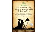 o masa romantica de 2 persoane in data de 14 februarie