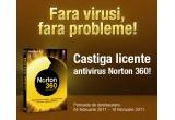 5 x licenta antivirus Norton 360 4.0