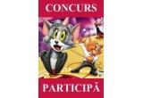5 x 1 DVD cu desenele animate Tom si Jerry / saptamana