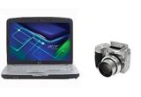 Laptop Acer Aspire 5720Z-3A2G16Mi , un aparat foto digital Kodak EasyShare Z710