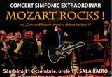 <b>Invitatii de cate doua persoane cu locuri la concertul Mozart rocks!<br /> <br /> </b>