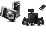<b>O camera foto BenQ, un sistem Audio Logitech, si un hard-disk extern Fujitsu Siemens!</b><br />