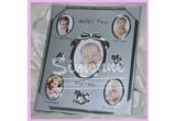 1 x geanta pentru bebe, 3 x rama foto Baby's First, 5 x rama foto placata cu argint (9/13cm), 10 x rama foto placata cu argint (5/8cm)