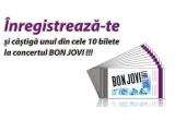 10 x bilet la concertul Jon Bon Jobi