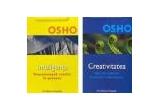 """cartea """"Creativitatea, descatusarea fortelor interioare"""" + cartea """"Inteligenta-Reactioneaza creativ la prezent"""""""