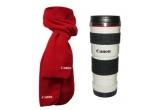3 x pachet fular + cana (termos) Canon