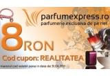 5 x parfum, un voucher de reducere pentru fiecare participant (8 RON)