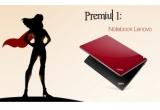 1 x notebook Lenovo Thinkpad Edge 15 rosu, 1 x set cu crema Juvena + parfum 212 VIP Carolina Herrera, 1 x parfum 212 VIP Carolina