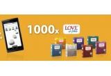 1 x pachet cu un smartphone Motorola Milestone + o gama de prezervative Love Plus + editia 1000 a revistei Academia Catavencu, 5 x pachet cu o sticla de sampanie + o gama de prezervative Love Plus + editia 1000 a revistei Academia Catavencu, 20 x pachet cu un almanah + o gama de prezervative Love Plus + editia 1000 a revistei Academia Catavencu, 5 x pachet cu un abonament pe 3 luni la Academia Catavencu + o gama de prezervative + editia 1000 a revistei Academia Catavencu