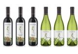 5 x set cu vin rosu + vin alb Lacerta