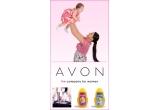 un set de produse AVON pentru mama si copil