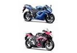 3 x kit de asamblare motociclete, 3 x puzzle Riccordi