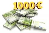 1000 euro, 2 x camera video Toshiba, 3 x aparat foto Canon, 1 x 200 euro