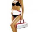 1 x set de aerobic cu greutati pentru glezne/antebrat de la Weider, 1 x Centura de masaj cu vibratii si efect de sauna de la Vibro-Belt, 1 x set de 2 greutati de 1 Kg Smile'n Fit