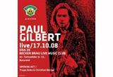 <b>2 invitatii la concertul Paul Gilbert care se va desfasura la Bucuresti pe data de 17 octombrie 2008</b>