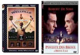 "4 x dvd ""A Bronx Tale"", ""The Road to Wellville"""