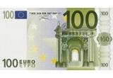 1 x 100 de Euro