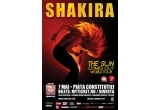 o invitatie dubla la concertul Shakira