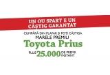 25.000 x voucher valoric, 1 x masina Toyota Prius