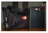 3 x set cu geanta sport + agenda + pix + memory stick