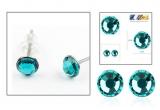 4 x pereche de cercei Fabulous Emerald